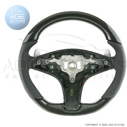 Mercedes-benz C207 Coupe E-class W212 Amg Genuine Carbon Leather Steering Wheel