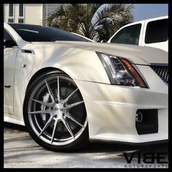 22 Rohana Rfx2 Titanium Concave Forged Wheels Rims Fits Cadillac Cts V Coupe