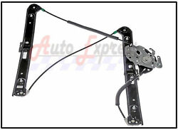 Power Window Regulator Front Left Driver Side W/out Motor For Bmw 3 Series E46