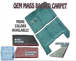 1973-74 Gm A Body Mass Backed Molded Carpet For Automatic Transmission