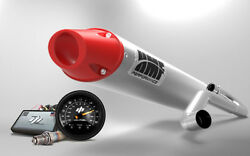 Hmf Yamaha Yxz1000r Full Exhaust Performance Series Brushed Red Cap + Afr