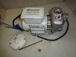 Dometic Pump With Stainless Steel Seawater Pump Head 115/230v Model 1010037