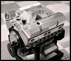 SBC CHEVY 427 STAGE 5.2 DART BLOCK AFR HEADS CRATE MOTOR 628 hp BASE ENGINE