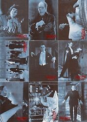 Universal Monsters Of The Silver Screen 1996 Base Card And Sticker Set 90/10 Movie