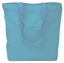 NEW Liberty Bags Tote Bag Large Bag with Zipper Closure 8802 Color Choice $7.72