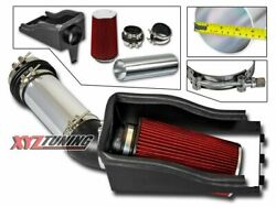 4 Red Heat Shield Cold Air Intake + Filter For 99-03 Excursion 7.3l Turbo V8