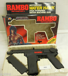 1985 ljn entertech rambo motorized water
