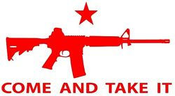Come And Take It Ar 15 Decal Car Truck Usa 2a Guns Ammo Sig Fits Jeep Yeti Mandp