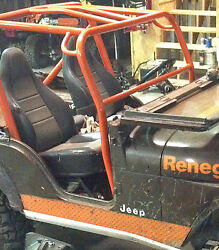 Front Roll Bar Add On Kit Jeep 1955-1968 Cj5 Front Roll Cage Add On