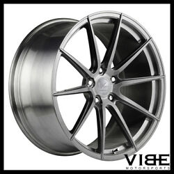 20 Vertini Vs Forged Vs01 Brushed Concave Wheels Rims Fits Chevrolet Camaro