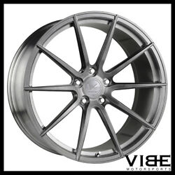 20 Vertini Vs Forged Vs01 Brushed Concave Wheels Rims Fits Nissan Maxima
