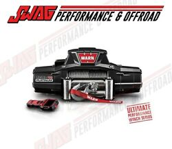 Warn Zeon 12 Platinum Series - 12000lb Recovery Winch - Jeep Truck Suv