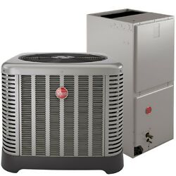 CENTRAL AIR  CONDITIONING COMPLETE TURN KEY  SYSTEM RHEEM 14 SEER 3 TON