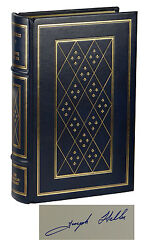 Catch 22 Joseph Heller Signed Leather Limited Edition The Franklin Library