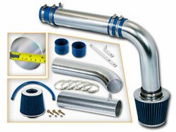 3 Blue Cold Air Intake Induction Kit +filter For 2011-2017 Accent/veloster