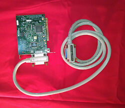 National Instruments Ni 183619b-01 Gpib Pci Card 1998 And Cable