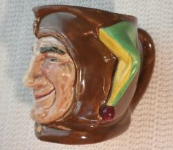 Royal Doulton Character And Toby Jug The Jester Small C. 1930
