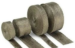Exhaust Pipe Wrap Metallic 2 X 100 Ft. Cycle Performance Cpp/9053-100