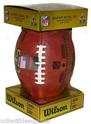 Wilson Authentic On Field Super Bowl 50 Official Game Football Broncos Panthers