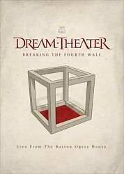 Dream Theater - Breaking The Fourth Walllive From The Boston Ope Blu-ray New+