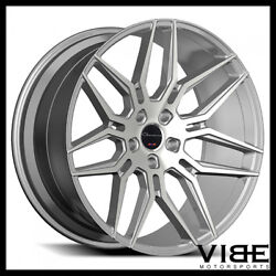 22 Giovanna Bogota Silver Concave Wheels Rims Fits Bentley Continental Gt Spur