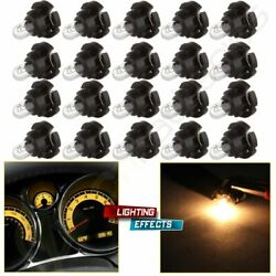 20x Warm White T4T4.2 Neo Wedge 10mm Car Dash HVAC Climate Control Light Bulbs