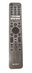 Backlit Voice Remote Control Commander Controller Rmf-tx621e For Sony 4andkappa 8khd Tv