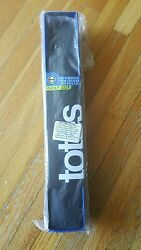 Totes Blue Line  Auto Golf Size Umbrella BlackWhite umbrella BLK 07110