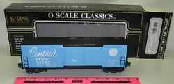 New K-line K765-1751 New York Central O Scale Classic Modern Boxcar 92102