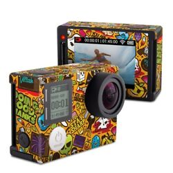 GoPro Hero4 Silver Skin Psychedelic by JThree Concepts Decal Sticker