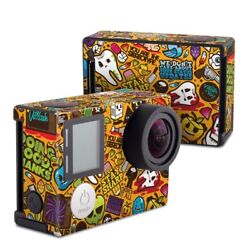 GoPro Hero4 Black Skin Psychedelic by JThree Concepts Decal Sticker