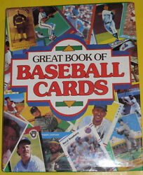 Great Book Of Baseball Cards 1989 Huge Coffee Table Book Great Pictures Nice See