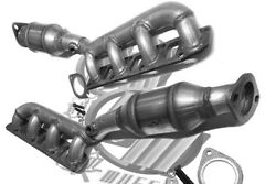Fits Nissan Titan 5.6l Pair Of Both Manifold Catalytic Converters 2010 To 2014