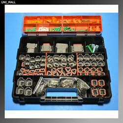 678 Pcs Deutsch Dt Connector Kit With 14-18awg Solid Contacts Made In Usa