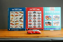 Antique Tin Toy1950and039s Friction Police Car Made In Us Zone Germany Works