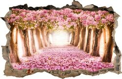 WALL STICKERS Hole in the wall Flowers Forest Sticker Vinyl Decal Decor Mural 44