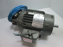 Baldor Zdnm3584t Electric Vector Motor, 7/8 Shaft, With Hs25 Optical Encoder