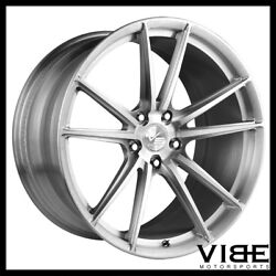 20 Vs Forged Vs04 Brushed Concave Wheels Rims Fits Infiniti G37 G37s
