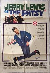 JERRY LEWIS Signed 1964 The Patsy 27x41 Original Poster PSADNA COA Proof Pic