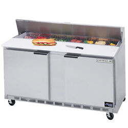 Beverage Air Spe60-10, 60-inch Refrigerated Salad And Sandwich Prep Table, Ul, C