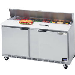 Beverage Air Spe60-08, 60-inch Refrigerated Sandwich And Salad Prep Table, Ul, C