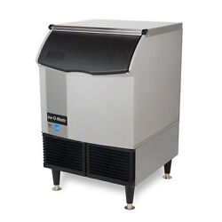 Ice-o-matic Iceu220fw, 24.54x26.27x39-inch Undercounter Water-cooled Ice Maker,