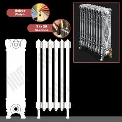 The Alexandria 800mmhigh Cast Iron Radiators 3 To 20 Sections Wide