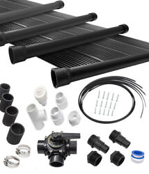 4-2x12and039 Sunquest Solar Swimming Pool Heater Complete System With Roof Kits