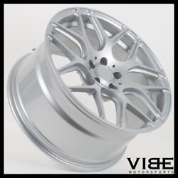 21 Mrr Fs01 Silver Forged Concave Wheels Rims Fits Bmw F10 F11 528 535 550