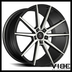 20 Koko Kuture Le Mans Machined Concave Wheels Rims Fits Ford Mustang Gt Gt500