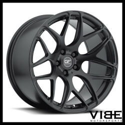 20 Mrr Ground Force Gf9 Black Concave Wheels Rims Fits Acura Tl