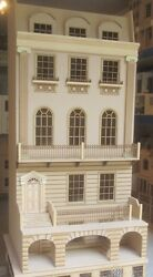 Dolls House 12th Scale The Canterbury House In Kit Dhd 16-03