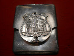 Vintage Planters Bank Building, Rocky Mount N.c. Matchbook Holder With Matches