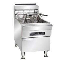 American Range Afct 15, Deep Fat Fryer With Storage Cabinet, Countertop